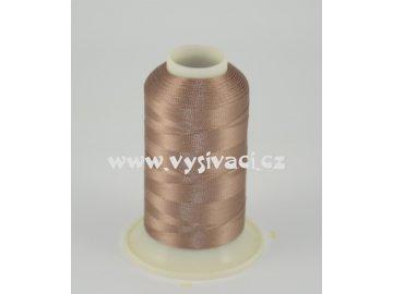 vyšívací nit hnědá ROYAL C206 návin 1000m viskóza
