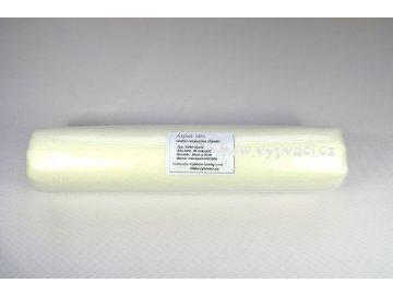 AQUA VLIS AV40 - vodou rozpustný podkladový materiál pro vyšívání, gramáž 40g/m2, barva bílá, šíře 30cm, návin 10m
