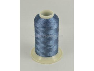 vyšívací nit modrá ROYAL C235 návin 1000m viskóza