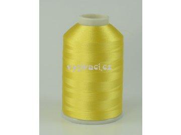 vyšívací nitě žlutá ROYAL C006 návin 5000m viskóza