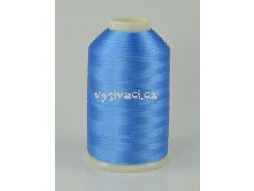 vyšívací nitě modrá ROYAL C378 návin 5000m viskóza