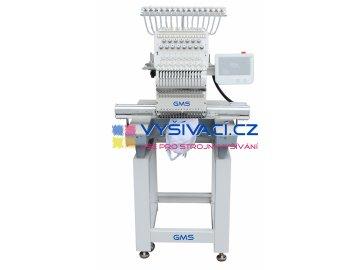 vyšívací stroj GMS-FT1501XL průmyslový jednohlavový 15-ti jehlový se zvětšenou pracovní plochou  rúné varianty + dárek