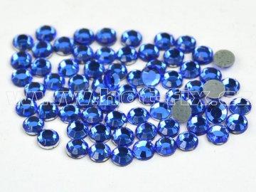 hot-fix skleněné nažehlovací kameny na textil barva 117 Sapphire velikost SS6 až SS16