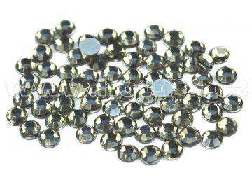 hot-fix skleněné nažehlovací kameny na textil barva 126 Black diamond, velikost SS6 až SS30