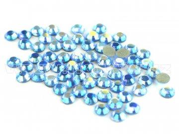 205 AB Saphire nažehlovací hot fix kamínky na textil