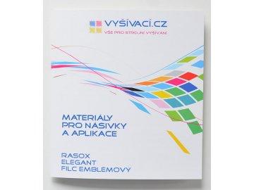 barevnice materiálů pro vyšívání nášivek a aplikací