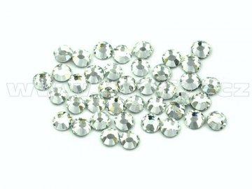 celobroušené hot-fix kameny Premium barva CBP 101 Crystal, velikost SS6 až SS40, balení 144ks