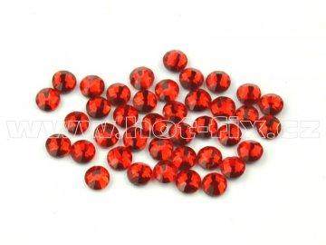 celobroušené hot-fix kameny Premium barva CBP 103 Siam, velikost SS6 až SS30, balení 144ks