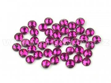 celobroušené hot-fix kameny Premium barva CBP 218 Fuchsia, velikost SS6 až SS30, balení 144ks