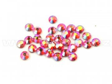celobroušené hot-fix kameny Premium barva CBP 503 AB Siam, velikost SS6 až SS30, balení 144ks
