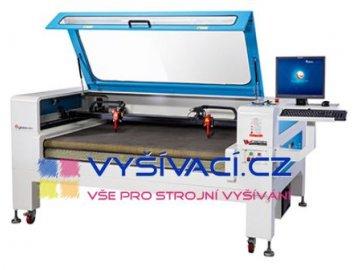 GBOS GH1610T AT CCD - výkonný řezací a gravírovací laser s automatickým podáváním řezaného materiálu a kamerou
