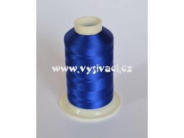 vyšívací nit modrá ROYAL C135 návin 1000m viskóza