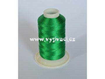 vyšívací nit zelená ROYAL C151 návin 1000m viskóza