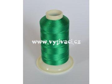 vyšívací nit zelená ROYAL C154 návin 1000m viskóza