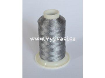vyšívací nit šedá ROYAL C189 návin 1000m viskóza