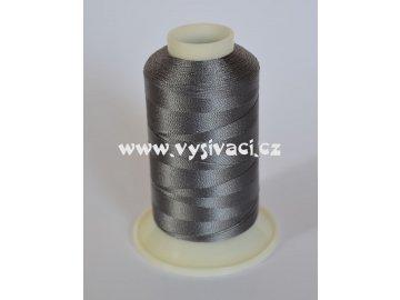 vyšívací nit šedá ROYAL C192 návin 1000m viskóza