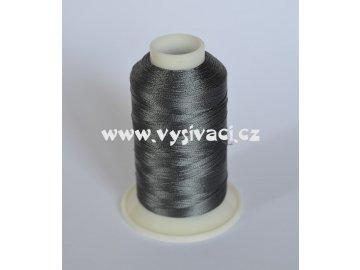 vyšívací nit šedá ROYAL C276 návin 1000m viskóza