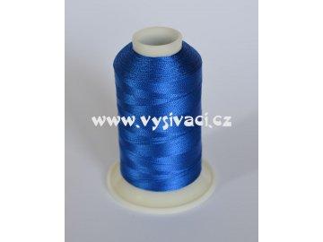 vyšívací nit modrá ROYAL C323 návin 1000m viskóza