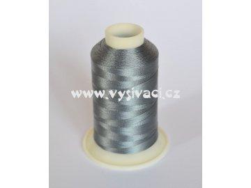 vyšívací nit šedá ROYAL C556 návin 1000m viskóza