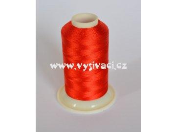 vyšívací nit červená ROYAL C719 návin 1000m viskóza