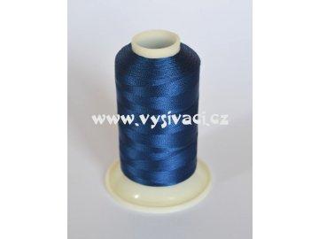 vyšívací nit modrá ROYAL C779 návin 1000m viskóza