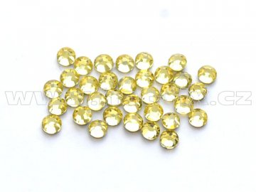 celobroušené hot-fix kameny Premium barva CBP 111 Jonquil, velikost SS6 až SS30, balení 144ks