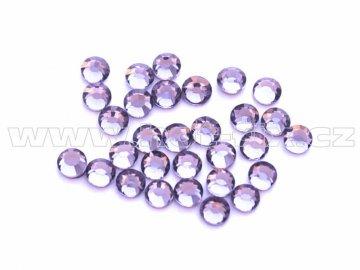 celobroušené hot-fix kameny Premium barva CBP 139 Tanzanite, velikost SS6 až SS30, balení 144ks