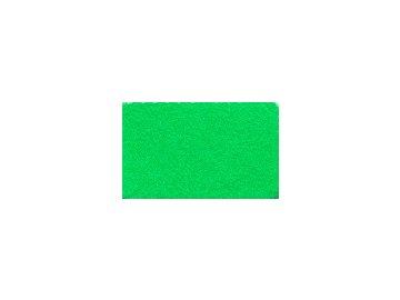 FILC pro vyšívání nášivek a aplikací, š. 112cm, tloušťka cca 1mm, barva č. 200 zelená fluo