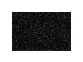 PUFFY pěna PUF255-2 černá - pro vyšívání 3D prostorových výšivek, tloušťka 2mm, výsek 30x50cm
