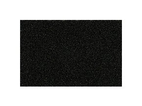PUFFY pěna PUF255-2 černá - pro vyšívání 3D prostorových výšivek, tloušťka 2mm, výsek 28x46cm nebo 30x40cm