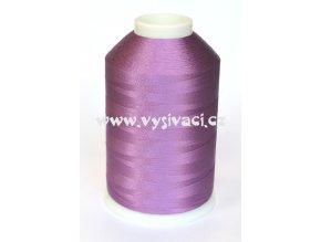 vyšívací nitě fialová ROYAL C088 návin 5000 metrů viskóza