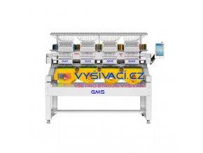 vyšívací stroj GMS GMS-FT1201C Profesional - průmyslový jednohlavový 12-ti jehlový  + ZDARMA: balíček spotřebních materiálů a nití!