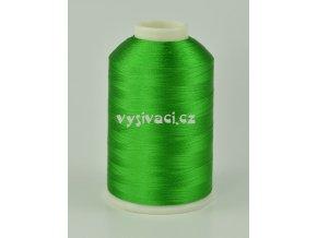 vyšívací nitě zelená ROYAL C750 návin 5000m viskóza