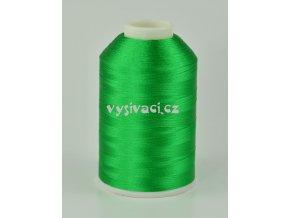 vyšívací nitě zelená ROYAL C151 návin 5000m viskóza