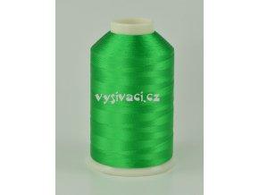 vyšívací nitě zelená ROYAL C358 návin 5000m viskóza