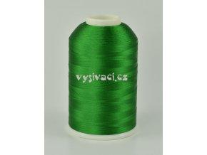 vyšívací nitě zelená ROYAL C751 návin 5000m viskóza
