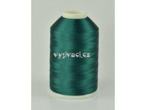 vyšívací nitě zelená ROYAL C464 návin 5000m viskóza