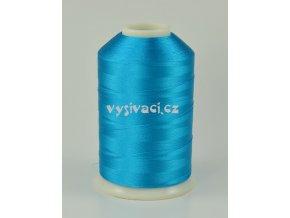 vyšívací nitě modrá ROYAL C107 návin 5000 metrů viskóza