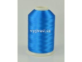 vyšívací nitě modrá ROYAL C112 návin 5000 metrů viskóza