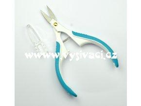 nůžky GMTC130B nůžky vyšívací se zahnutou ostrou špičkou ergonomické, délka 12cm