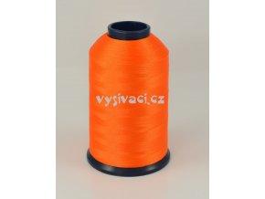 vyšívací nit oranžová ROYAL P7278 5000m polyester