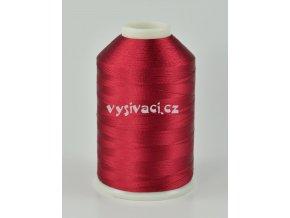 vyšívací nitě červená ROYAL C706 návin 5000 metrů viskóza