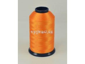 vyšívací nit oranžová ROYAL P189 5000m polyester