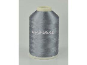 vyšívací nitě šedá ROYAL C189 návin 5000m viskóza