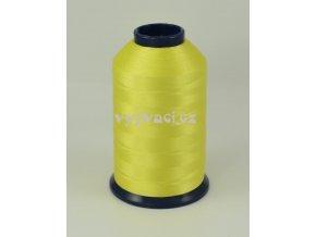 vyšívací nit žlutá ROYAL P004 5000m polyester