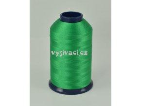 vyšívací nit zelená ROYAL P115 5000m polyester