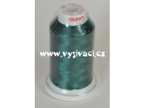 vyšívací nitě Gunold Sulky 1208 zelená, návin 1000m, viskóza