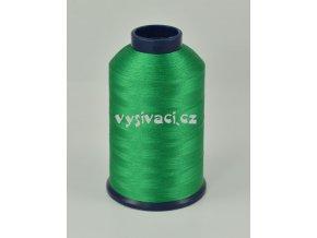 vyšívací nit zelená ROYAL P116 5000m polyester