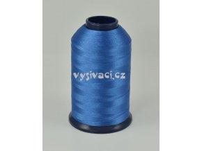 vyšívací nit modrá ROYAL P067 5000m polyester