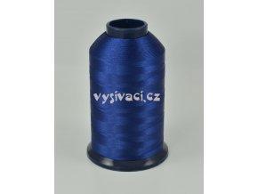 vyšívací nit modrá ROYAL P069 5000m polyester